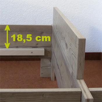 Steckbett Kopfteil von Tischler Breuing Koppe